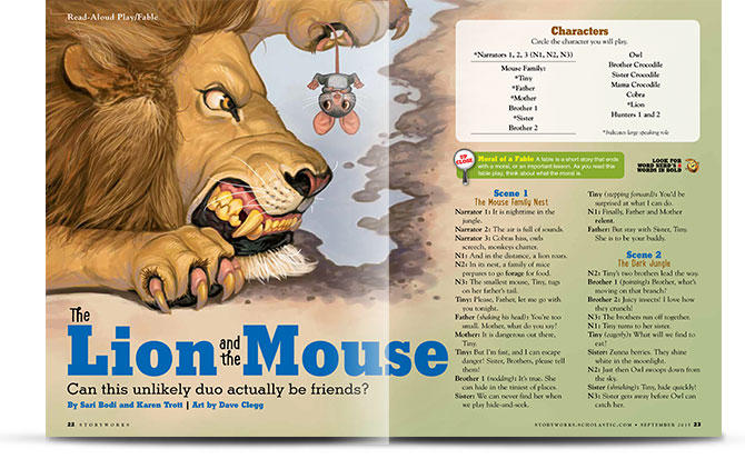 Story Lion And The Mouse - About Horse and Lion Photos