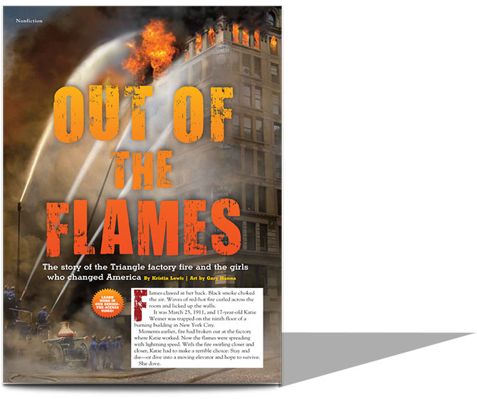 Out of the Flames | Narrative Nonfiction | Scholastic