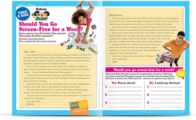 storyworks persuasive essay