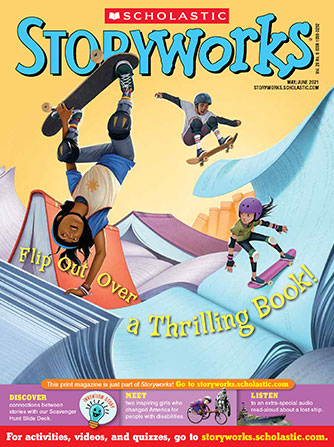 magazine cover for the May/June issue of Storyworks