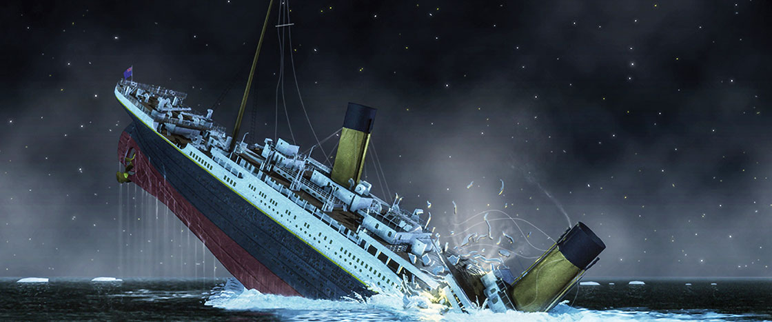 Searching For The Titanic